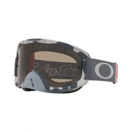 Oakley O Frame 2.0 TLD MX Goggle (Low VIS Grey) Dark Grey & Clear Lens