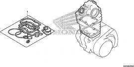Gasket Kit A, CRF250L