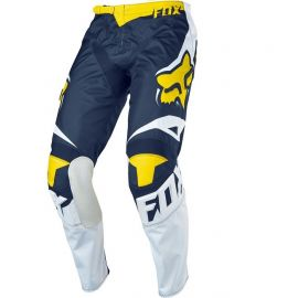Fox 180 Race Special Edition Pants-Blue/White/Yellow