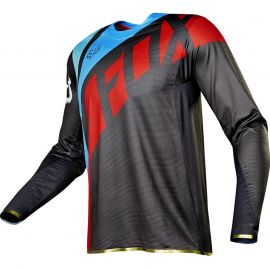 Fox Racing Flexair Seca Jersey Grey Red