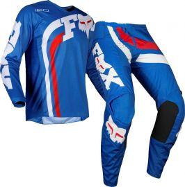 Fox 180 Cota Blue MX Jersey And Pants Set