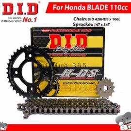 DID Chain & Sprocket Set Honda Blade