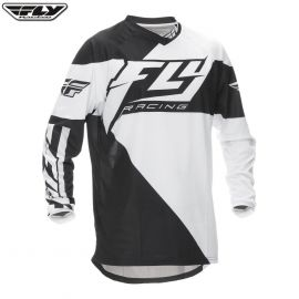 Fly 2016 F-16 Adult Jersey Black/White
