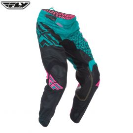 Fly 2016.5 Kinetic Mesh Adult Pant Trifecta Teal/Pink/Black