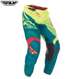 Fly 2016.5 Kinetic Mesh Adult Pant Trifecta Hi-Viz/Teal