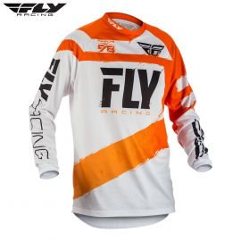 Fly 2018 F-16 Adult Jersey (Orange/White)