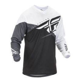 Fly 2019 F-16 MX Jersey (Black/White/Grey)