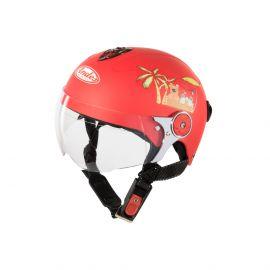 Kid Helmet With Glasses