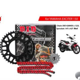 D.I.D Chain And Sprocket Yamaha Exciter Set