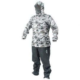GIVI CAM01 CAMOUFLAGE RAINSUIT GREY