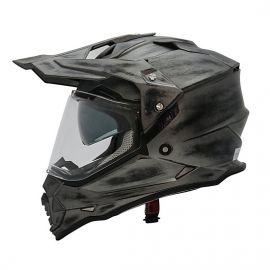 Yohe Dualsport Adventure Helmet (Sanding Matt)