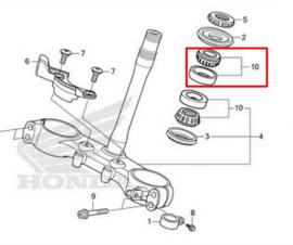 Stem Neck Bearing CRF250l (Set)