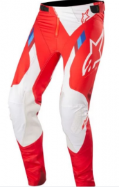 Alpinestars Supertech Red/White MX Pants - 2019-32