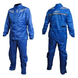 Givi Ridertech Rain Suit 04 - Blue