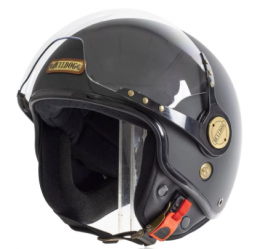 Bulldog Perro Pom Open Face Helmet
