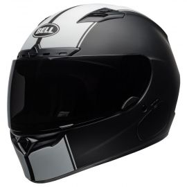 Bell Street Qualifier DLX Adult Helmet Rally Matte Black/White