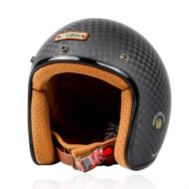 Bulldog Heli Carbon Open Face Helmet