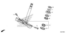 Bearing, Upper, Head Pipe [Neck], Honda CB500x