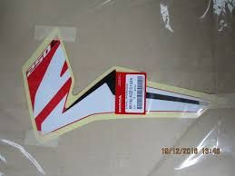 STRIPE, L FR SHROUSIDE CRF250L