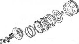 Clutch comp set