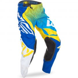 Fly 2017 Evolution Adult Pant (Blue/Yellow/White) Size 36