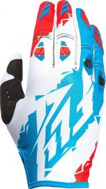 Fly 2017 Kinetic Adult Glove (Red/White/Blue)