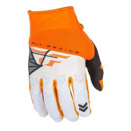 Fly 2018 F-16 Adult Gloves (Orange/White)