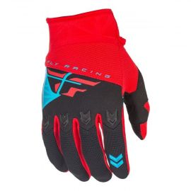 Fly 2018 F-16 Adult Gloves (Red/Black)