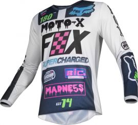 Fox 180 CZAR GREY MX JERSEY