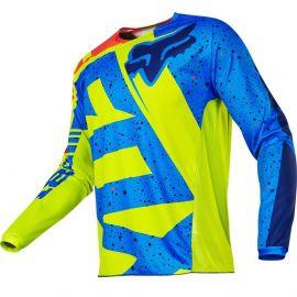 Fox 180 Nirv Jersey Yellow/Blue