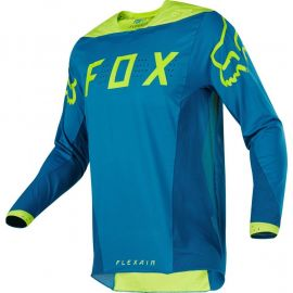 Fox Flexair 2017 Teal Moth Le Jersey-M
