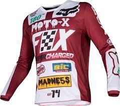 Fox 180 Czar Cardinal MX Jersey