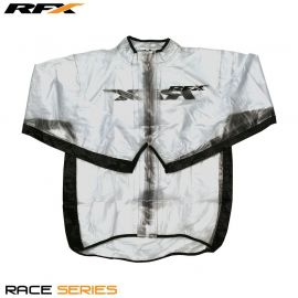 RFX Race Series Wet Jacket (Clear/Black)