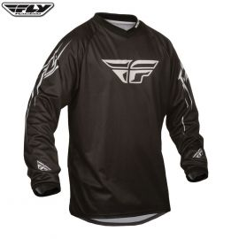Fly Universal Adult Jersey Black Size Large