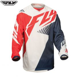 Fly 2015 Kinetic Mesh Adult Jersey Red/White/Navy