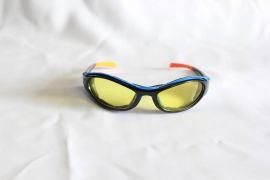 Gecko Series Sunglasses-Black-Yellow