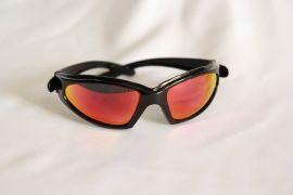 Reflex Series Sunglasses-Black-Red