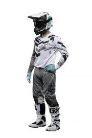 Seven MX 18.2 Rival Volume Jersey and Pants Set (Grey/White)