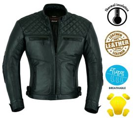 Classic Motorbike Leather Jacket