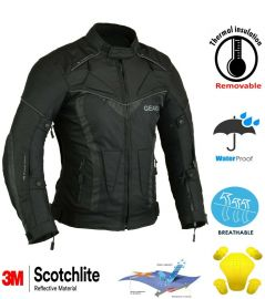 Aircon waterproof Motorbike Jacket