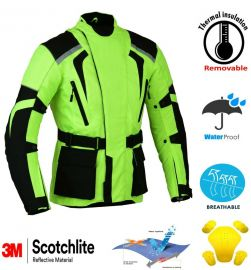 Hivis Motorbike Jacket Waterproof