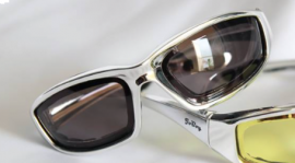 Old School Series Sunglasses-Chrome-Yellow