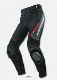 KOMINE PK-71 Riding Leather Mesh Pants