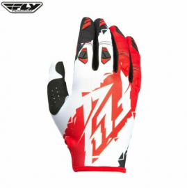 Fly 2017 Kinetic Adult Glove (Red/White/Black)