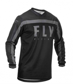 Fly 2020 F-16 Adult Jersey (Black/Grey)
