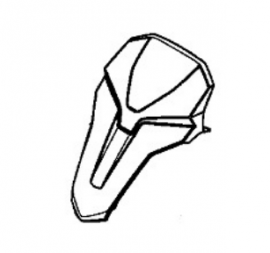 Cover Upper Headlight Honda CB500x