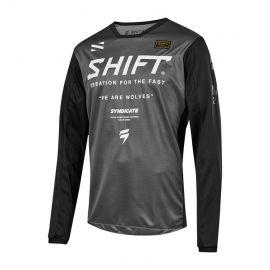 Shift Syndicate Whit3 Label Jersey - Smoke