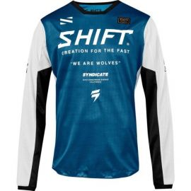 Shift Syndicate Whit3 Label Jersey-Blue