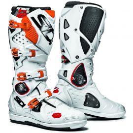 SIDI Crossfire 2 SRS Boots - White Orange