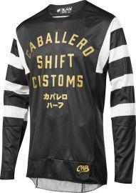 Shift Black Label Black Caballero MX Jersey-L